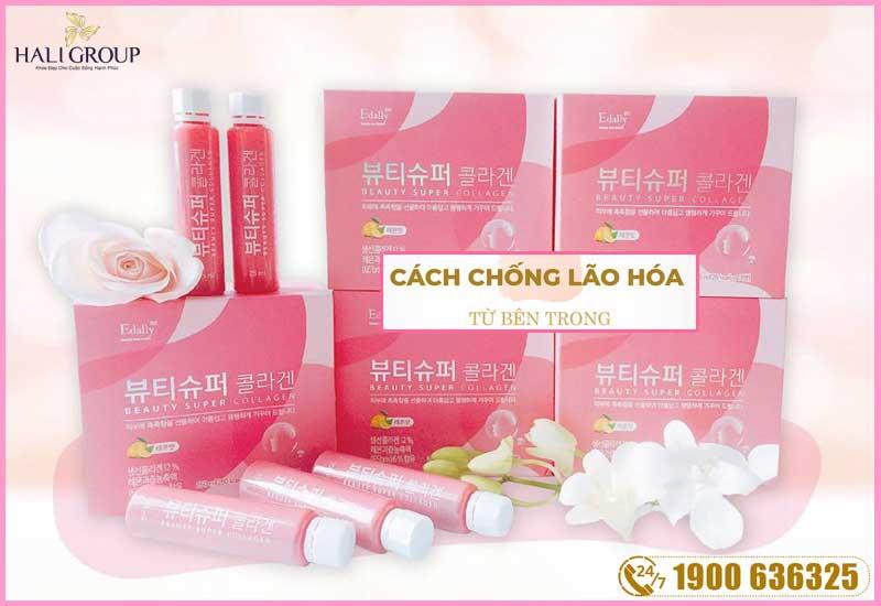 đối tượng sử dụng collagen edally chính hãng hàn quốc beauty super collagen