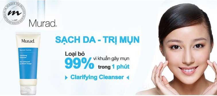 Gel Rửa Mặt Và Ngăn Ngừa Mụn Murad Clarifying