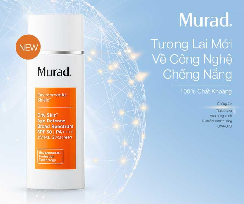Kem Chống Nắng Khoáng Chất 5 Tác Động Murad