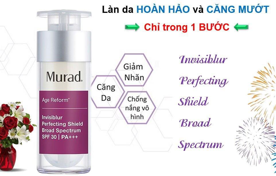 Công dụng Kem Chống Nắng Trong Suốt 3 Trong 1 Murad