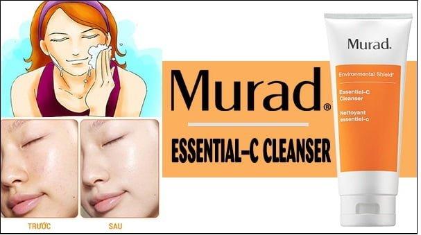Công dụng Sữa Rửa Mặt Loại Bỏ Tạp Chất Và Phục Hồi Độ Ẩm Cho Da Murad