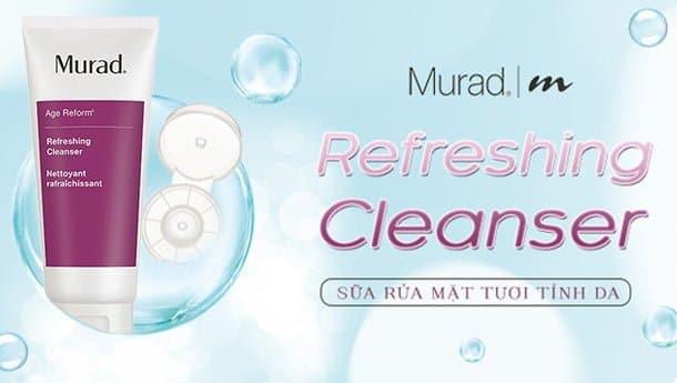 Sữa Rửa Mặt Tẩy Trang Làm Sạch Da Murad Refreshing Cleanser