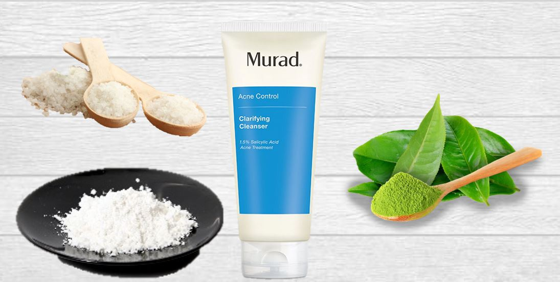 Thành phần Gel Rửa Mặt Và Ngăn Ngừa Mụn Murad