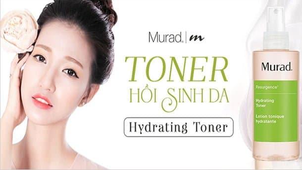 Toner Cấp Ẩm Và Tái Sinh Làn Da Tươi Trẻ Murad Hydrating