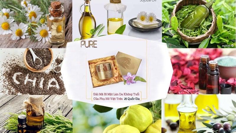 kem mộc qua pure thành phần và cách sử dụng