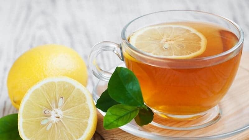 uống trà chanh mật ong