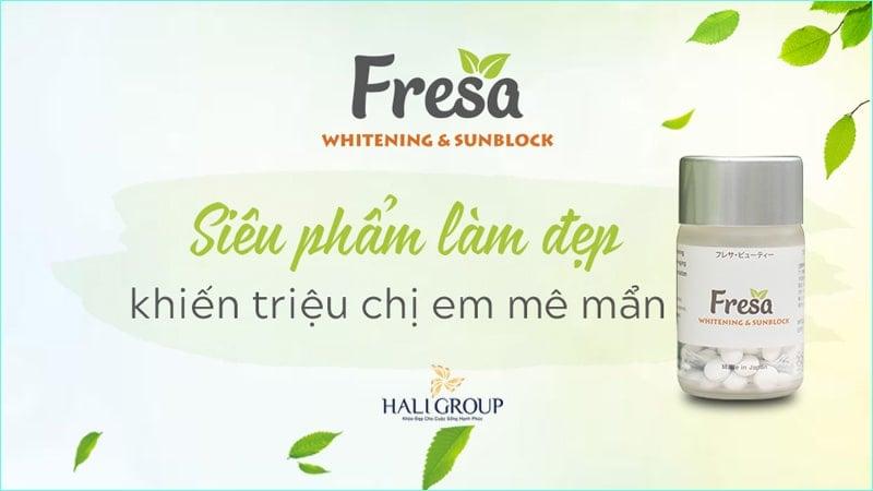 viên uống chống nắng Fresa có gây dị ứng không