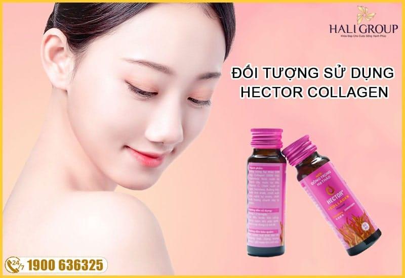 đối tượng sử dụng đông trùng hạ thảo collagen hector chính hãng