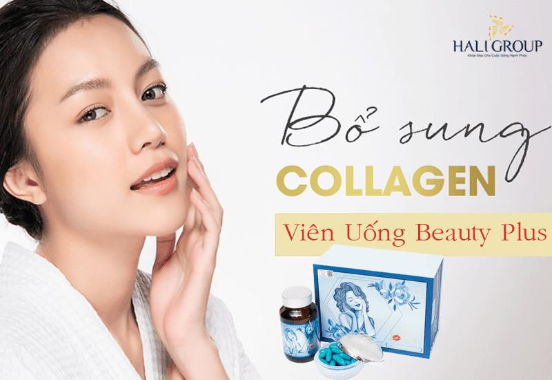 bổ sung collagen cùng beauty plus