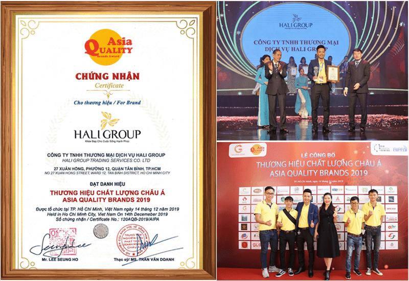 haligroup thương hiệu dẫn đầu Châu Á