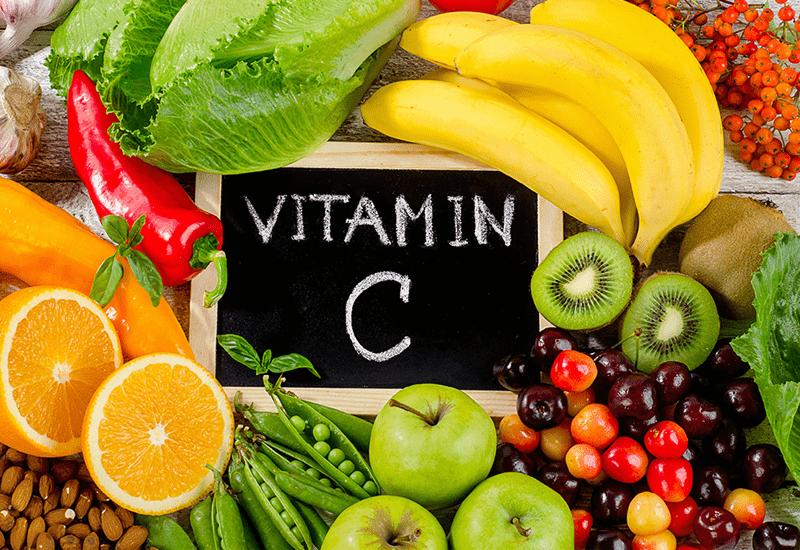 bổ sung vitamin C mỗi ngày