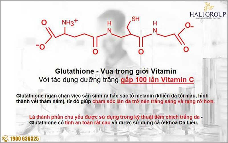 Glutathione hoạt chất làm trắng