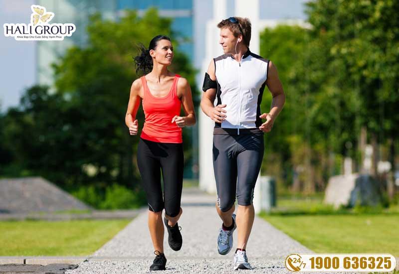 tập luyện kết hợp với ăn kiêng để tốt cho sức khỏe