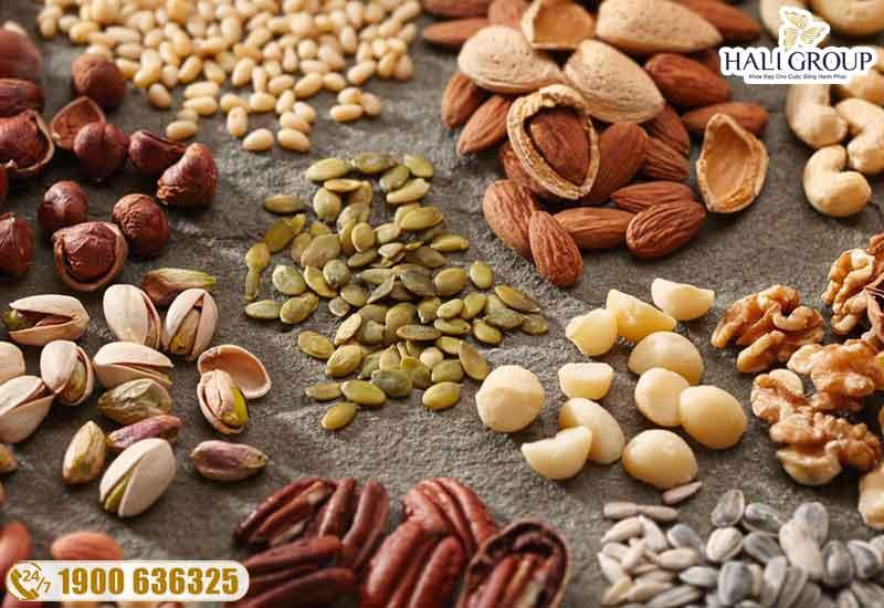 bổ sung các loại hạt