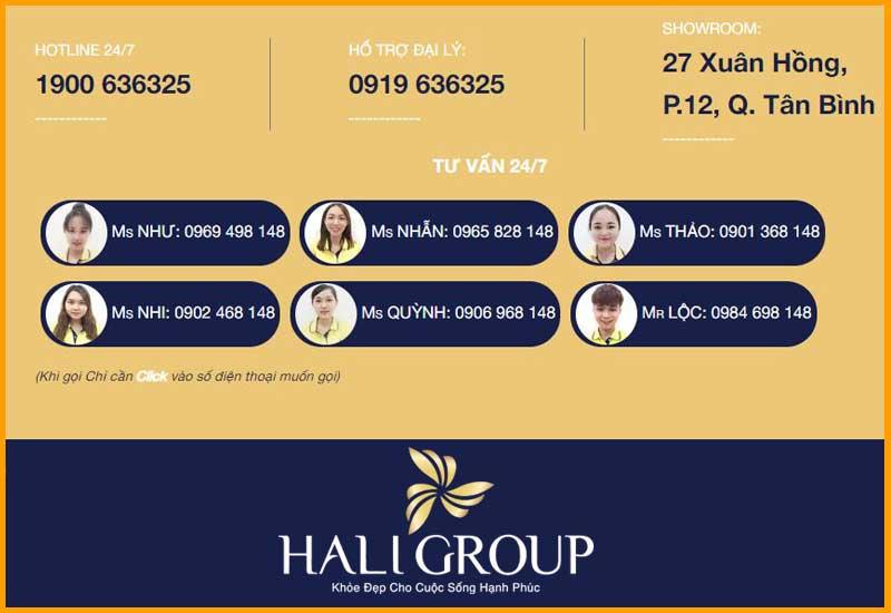 đội ngũ tư vấn chuyên nghiệp khi mua hàng tại Hali Group