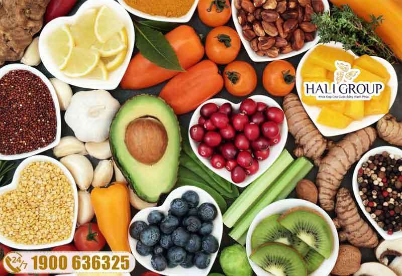 duy trì chế độ ăn lành mạnh