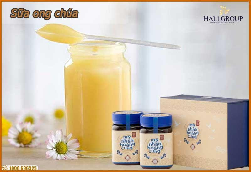 Sữa ong chúa có trong Mỹ Nhân Hoàng Cung