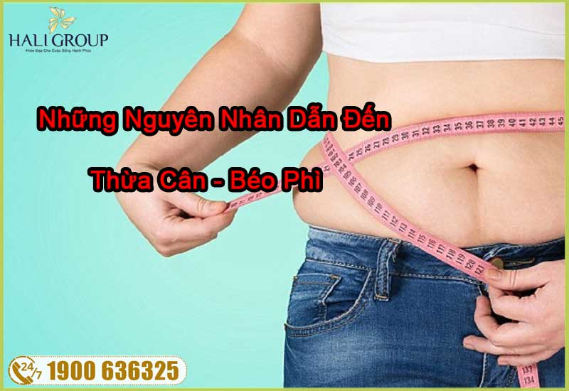 những nguyên nhân dẫn đến thừa cân béo phì