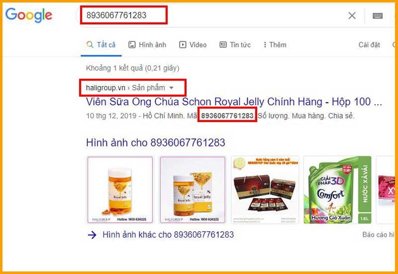 Hali Group đang là nơi phân phối chính hãng viên sữa ong chúa schon royal jelly chính hãng