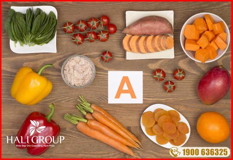 vitamin a cũng có trong tinh dầu thông đỏ edally hàn quốc