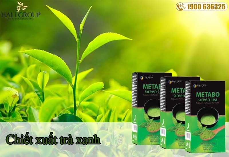 Chiết xuất trà xanh có trong bột trà xanh Metabo Green Tea chính hãng
