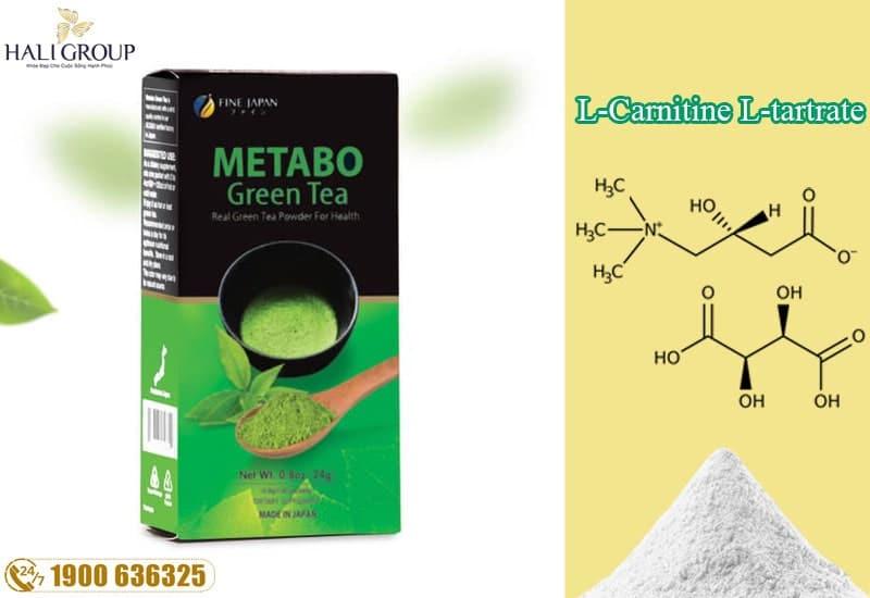 L-Carnitine-L-tartrate một dạng của L-Carnitine cũng có trong sản phẩm