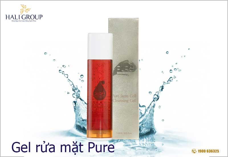 gel rửa mặt Pure