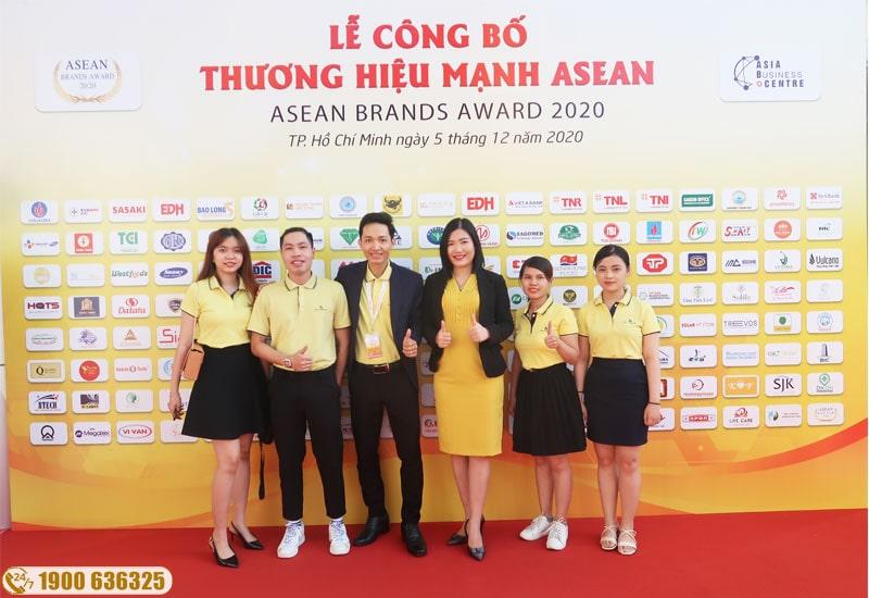 Hali Group vinh dự được nhận giải thương hiệu mạnh asean 2020