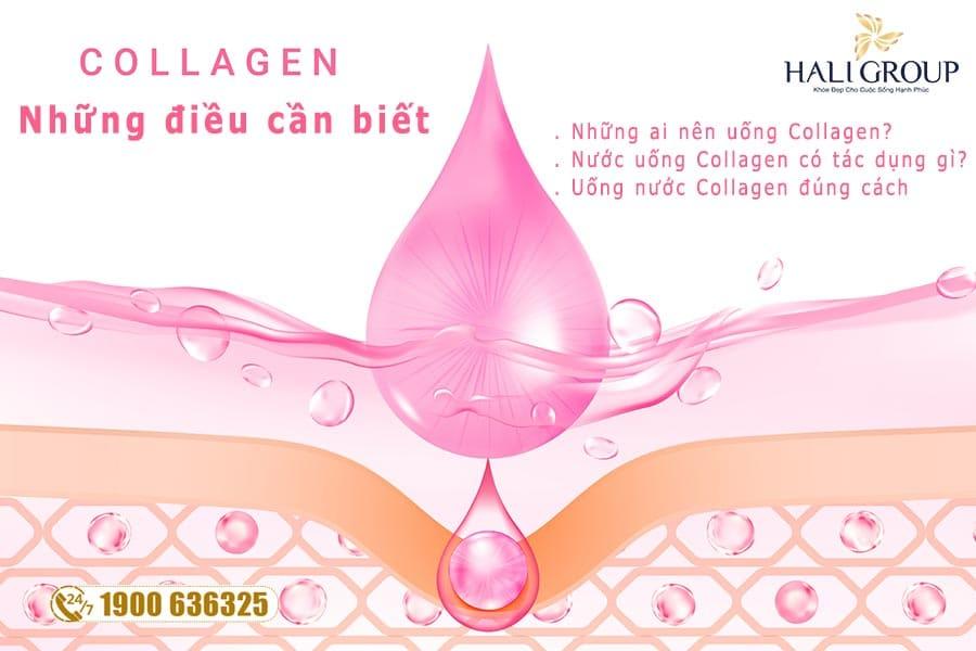 Những điều cần biết về nước uống Collagen làm đẹp da