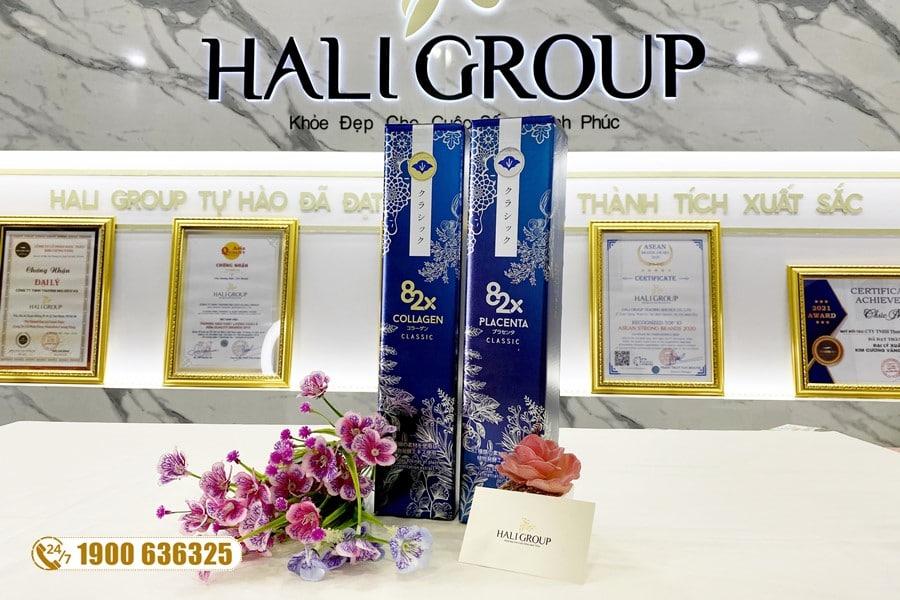 Nước Uống Collagen 82X chính hãng dòng Classic và Sakura